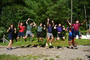 Senior Campers at Birch Rock Summer Camp