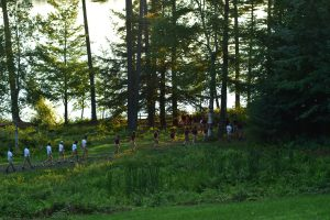 Campers and counselors Birch Rock Summer Camp